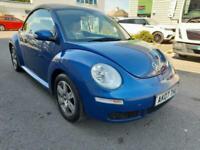 2007 Volkswagen Beetle 1.6 Luna Cabriolet 2dr Convertible Petrol Manual