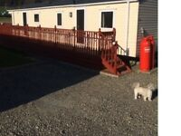 LUXURY STATIC CARAVAN AT CLARACH BAY HOLIDAY VILLAGE.