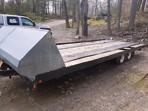 Trailer 25 feet by 8 new tires and bearings