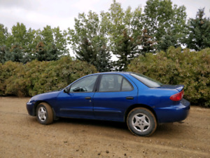 2 FOR 1 DEAL! 2004 Chevrolet Cavalier and Identical Parts Car