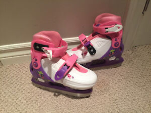Adjustable kids skates for sale