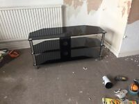 TV cabinet / glass unit
