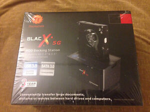 Tt Thermaltake Blac X 5G HDD Docking Station(New)