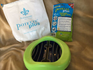 Baby portable potty with inserts
