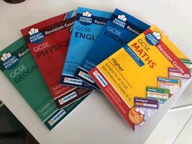 GCSE Revision books Maths (High), English, Biology, Chemistry, Physics