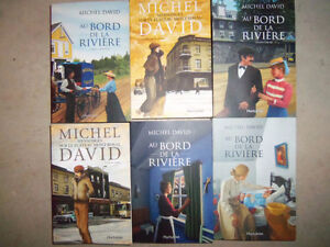 Grand lot de livres romans toutes pour 65$ seulement!