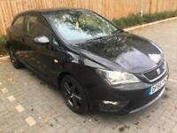 2016 66 Black Seat Ibiza 1.2 TSI ( 90ps ) SportCoupe FR Technology