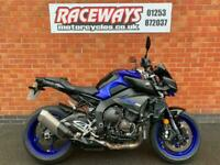 YAMAHA MT-10 2018 18 REG 8,908 MILES BLUE USED MOTORCYCLE 998CC