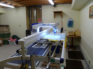 Longarm Quilting Machine and Frame