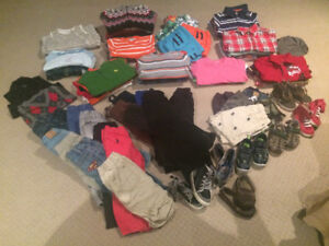 Boys Clothes: 2-3 year old lot (+85 items)