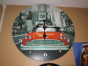 Large COCA-COLA Times Square Wall Clock For Sale
