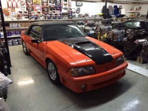 MUSTANG 1988 5.0 LITRES TURBO AUTOMATIQUE