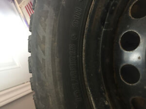 Bridgestone Blizzak Winter Tires 195/65R15 91H