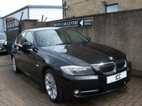 11 11 BMW 318D 2.0 DIESEL EXCLUSIVE EDITION 4DR £30 TAX LEATHER BLUETOOTH A/C