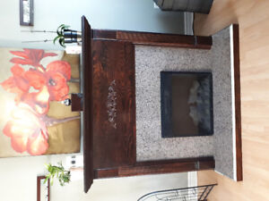 Handcrafted Electric Fireplace