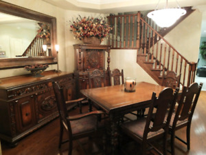 9 pc dining room suite