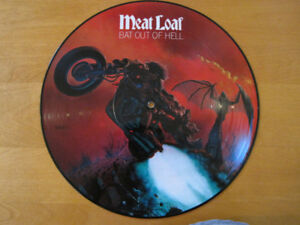 "VINYL LP – MEAT LOAF – BAT OUT OF HELL - ""PICTURE DISC"" - MINT!!"
