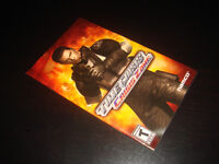 PS2-TIME CRISIS CRISIS ZONE-MANUAL ONLY (COMPLETE YOUR GAME)