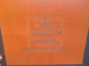 Queen Coffee Set plated gold (24K) Gatineau Ottawa / Gatineau Area image 3