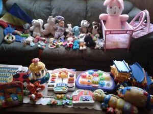 Big lot of toys