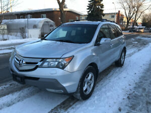 2008 ACURA MDX AWD FULL LOADED DVD BACK CAMERA GPS 7 PLACE