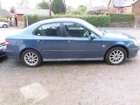 2006 SAAB 9-3 1.8 PETROL 4 DOOR IN BLUE