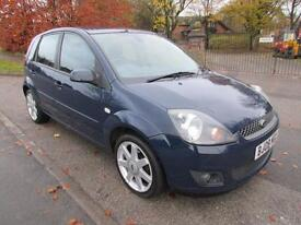 FORD FIESTA 1.4 ZETEC BLUE ONLY ONE OWNER FROM NEW