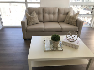 Short Term One Bedroom Furnished Condo Downtown @ Peter Richmond