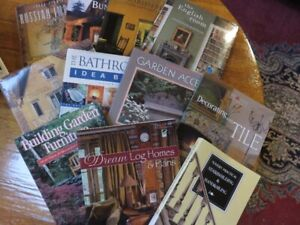 COLLECTION OF HOUSE AND RENOVATION BOOKS SELLING ALL TOGETHER