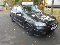 2003 Vauxhall/Opel Astra 1.6i 16v 2003MY SXi in black