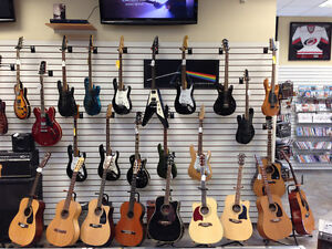 ELECTRIC, BASS AND ACOUSTIC GUITARS THAT ALL RANGE IN PRICE Kingston Kingston Area image 5