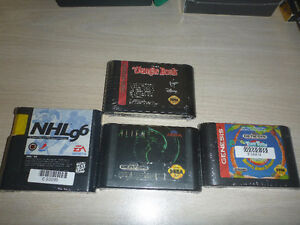 Retro game lot (Super Nintendo and  Sega Genesis)