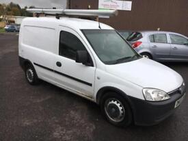 0707 Vauxhall Combo 1.3CDTi 16v 1700 White 5 Door MOT 12m
