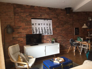 Beautiful condo for rent in the heart of downtown Montreal