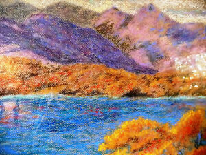 Original British Lake District Pastel by Billie Appleton 1987 Stratford Kitchener Area image 5