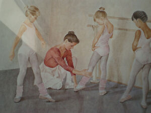 "John Newby - "" At the Barre "" - Limited Edition Print Kitchener / Waterloo Kitchener Area image 8"