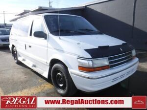 1992 Plymouth VOYAGER  4D SPORTS VAN