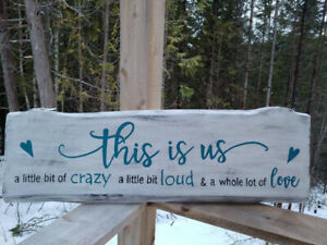 Hand painted signs for indoors or out