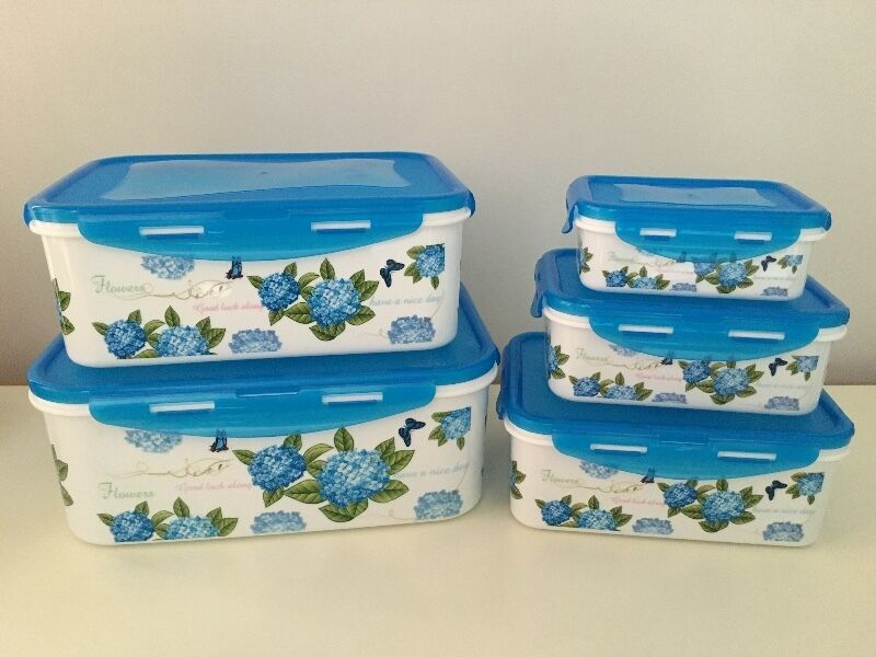 5-piece food container