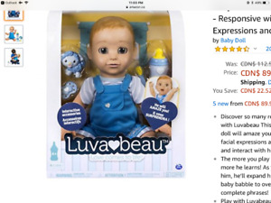Luvabeau Brand new in box