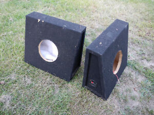 Speaker boxes - wedge style