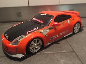 Nikko 1/10th scale remote control car