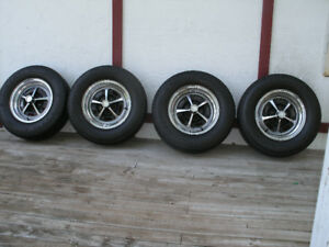 "Dodge Rims and Tires. 14"" 4 ½  Bolt Pattern"