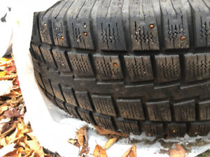 Dodge Ram winter wheels and tires