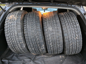 235 70 16 Firestone Winter Tires on Rims
