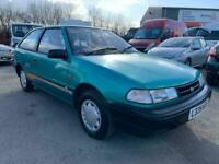 1994 Hyundai Pony X2 1.3 Sonnet, Only 39,000 Miles, 1 Former Keeper