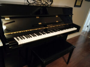 Reduced price for quick sale, beautiful Yamaha piano $1960