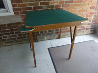 Games table with pullouts