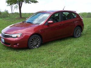 Beautiful Red Subaru