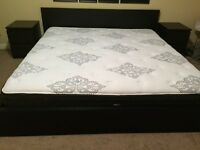IKEA MALM 6 piece bedroom set KING
